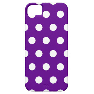 Purple Polka Dot iPhone 5 Case