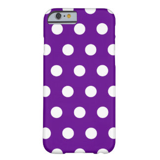 Purple Polka Dot iPhone 6 case