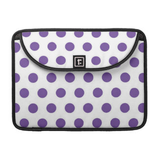Purple Polka Dot Macbook Sleeve