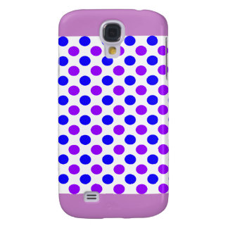 Purple Polka Dots - Girly iPhone Cases Galaxy S4 Case