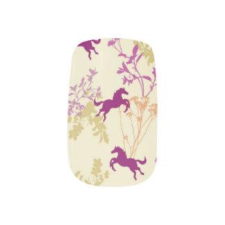 Purple Pony Minx Nail Art