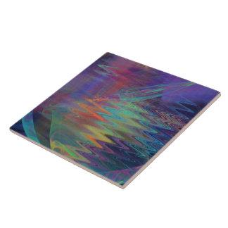 Purple Pool Large Square Tile