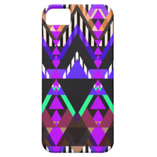 Purple Pop Aztec iPhone 5 Cases