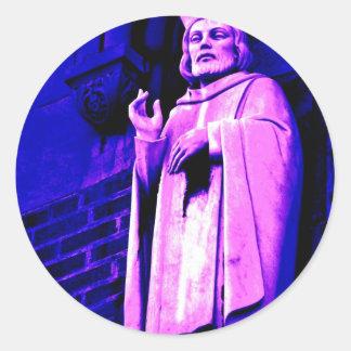 Purple Pope Sticker