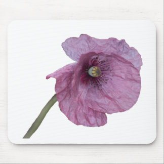Purple Poppy Mouse Mat