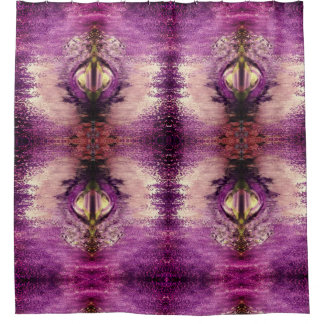 Purple Portal Shower Curtain