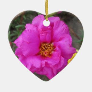 Purple Portulaca Plant Ornament