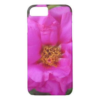 Purple Portulaca Plant iPhone 7 Case