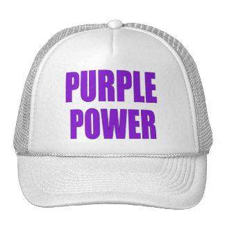 PURPLE POWER CAP