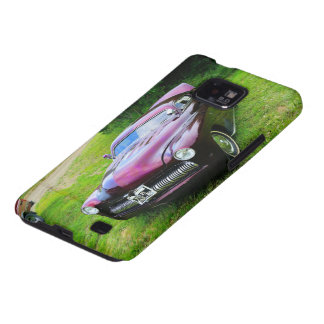 Purple Power Roadster Samsung Galaxy SII Cover