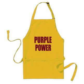 PURPLE POWER STANDARD APRON