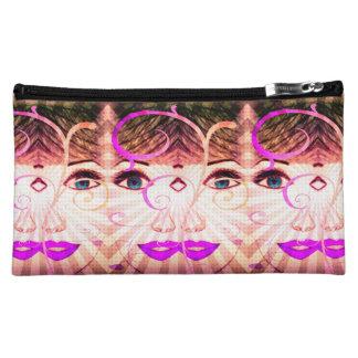 Purple Pretty Girl Cosmetic bag