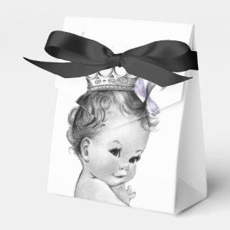 Purple Princess Baby Shower Favour Box