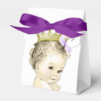 Purple Princess Favor Box