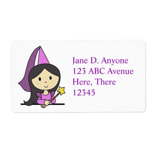 Purple Princess Label
