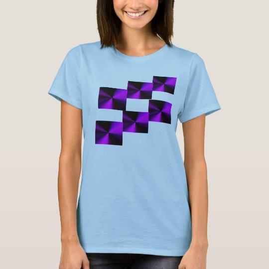 purple prism tee geometrics/ladies or men