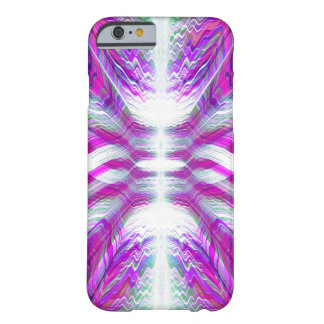 Purple psychedelic pattern barely there iPhone 6 case