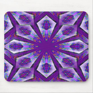 Purple Psychedelic Star... Mouse Mat