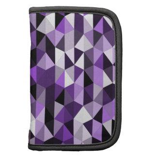 purple pyramid pattern 07 folio planner