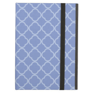 Purple Quatrefoil iPad Air Cases