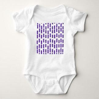 Purple rain baby bodysuit
