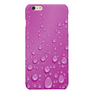 Purple Rain Drops iPhone 6 Plus Case