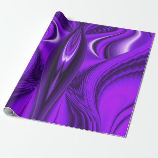 Purple Rainbow Dream - Angel Wings Wrapping Paper