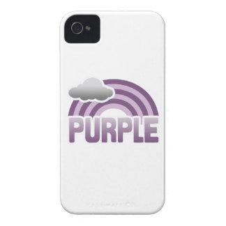 PURPLE RAINBOW iPhone 4 Case-Mate CASES