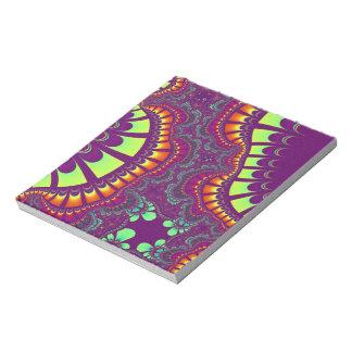 Purple Rainbow Remix Notepad