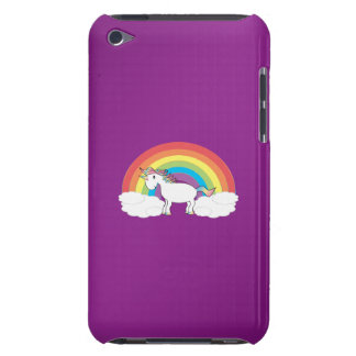 Purple rainbow unicorn gifts iPod touch cases