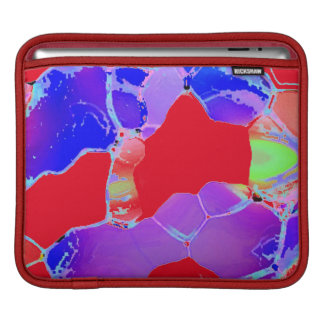 Purple Red Combination iPad Sleeve