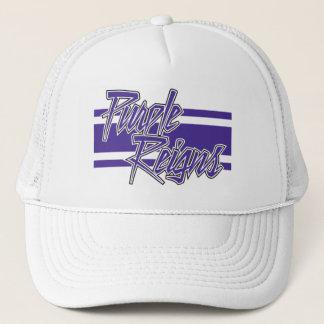 Purple Reigns N-Stripe on Hats -