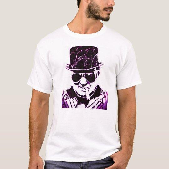 Purple retro Churchill T-Shirt