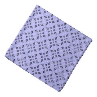Purple Retro Mosaic Pattern Bandana
