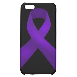 Purple Ribbon Awareness Lupus iPhone 5C Covers