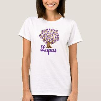 Purple Ribbon Tree Lupus Support T-Shirt