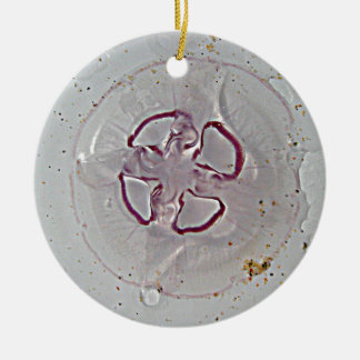 Purple Rings Jelly Christmas Ornament
