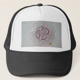 Purple Rings Jelly Trucker Hat