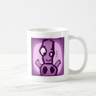 Purple Robot Caneca