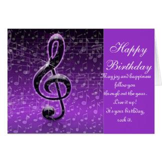 Purple Rocks!_ Greeting Card