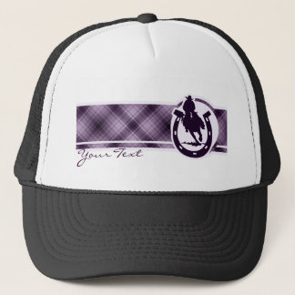 Purple Rodeo Trucker Hat