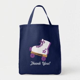 Purple Roller Skate Birthday Favor Bag