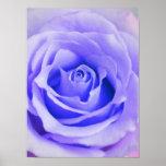 Purple Rose Background Customised Lavender Blank