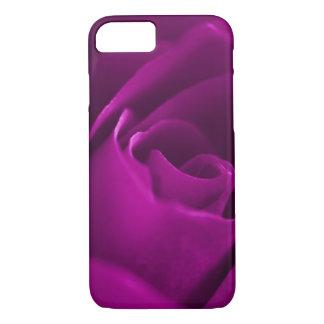 Purple rose blossom macro iPhone 7 case