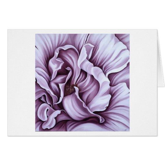Purple Rose Card