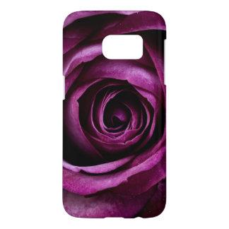 Purple Rose Cell Phone Case