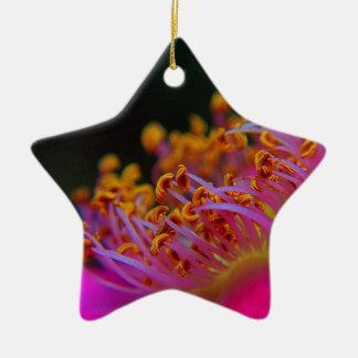 Purple Rose - close Up macro photography Christmas Ornament