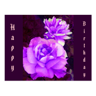 Purple Rose_ Postcard