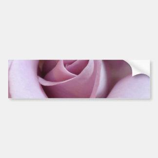 Purple Rose Wedding Photo Bumper Sticker