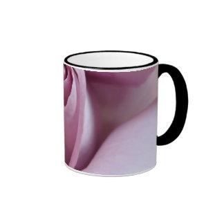 Purple Rose Wedding Photo Ringer Mug